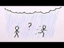 Embedded thumbnail for Is it Better to Walk or Run in the Rain?