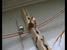 Embedded thumbnail for Ball magnet on copper rail