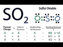 Embedded thumbnail for How to Draw the Lewis Structure for SO2 (Sulfur Dioxide)