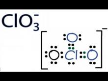 Embedded thumbnail for How to Draw the Lewis Structure for ClO3- (Chlorate Ion)